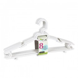 Hangers Ruth White (8 Uds)