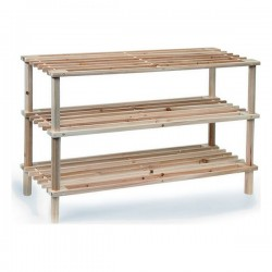 Shoe Rack Confortime Wood...