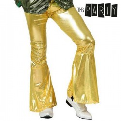 Adult Trousers Disco Golden