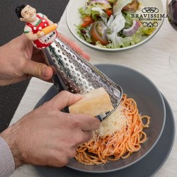 Stainless Steel Grater with...