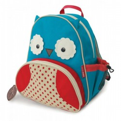 Child bag Nikidom Owl Blue Red