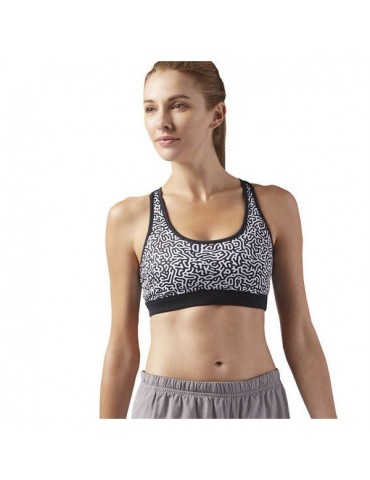Sports Bra Reebok Re 2 Black