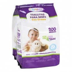 Baby Wipes with Cream (200...