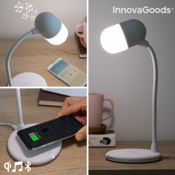 LED lamp with Speaker and...