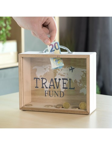 Travel Wooden Suitcase...