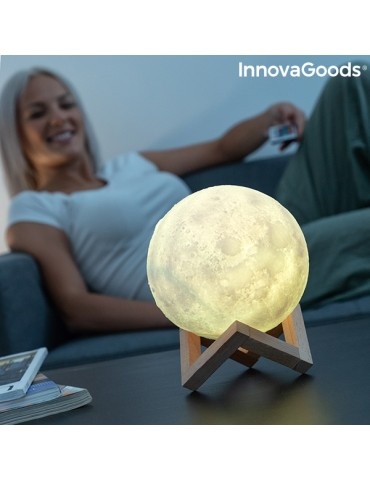 Rechargeable LED Moon Lamp...