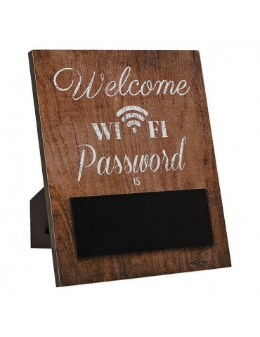 Sign Wifi Brown 118225