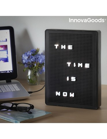 InnovaGoods Light-Up Peg Board
