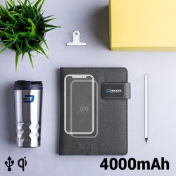 Notepad with Power Bank...