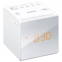 Clock-Radio Sony ICFC1W White