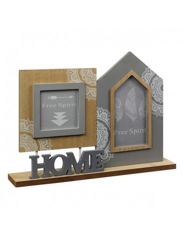 Photo frame Home Brown Grey...