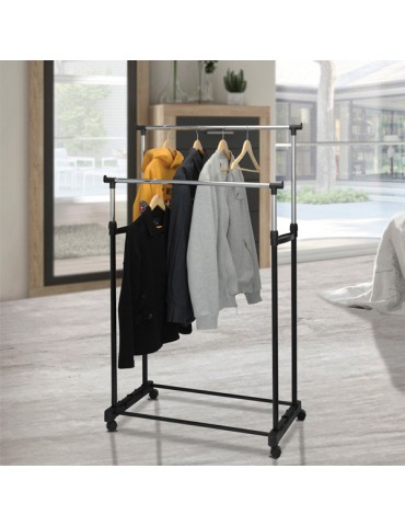 Coat Stand with Wheels...
