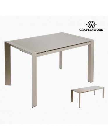 Grey extending table by...