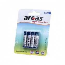 Batteries AAA/R03 1,5V (4...