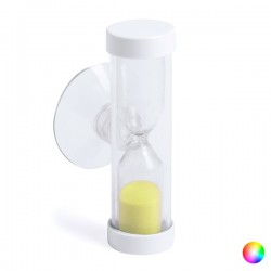 Hourglass with suction pad...
