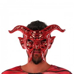 Mask 117746 Male demon Red